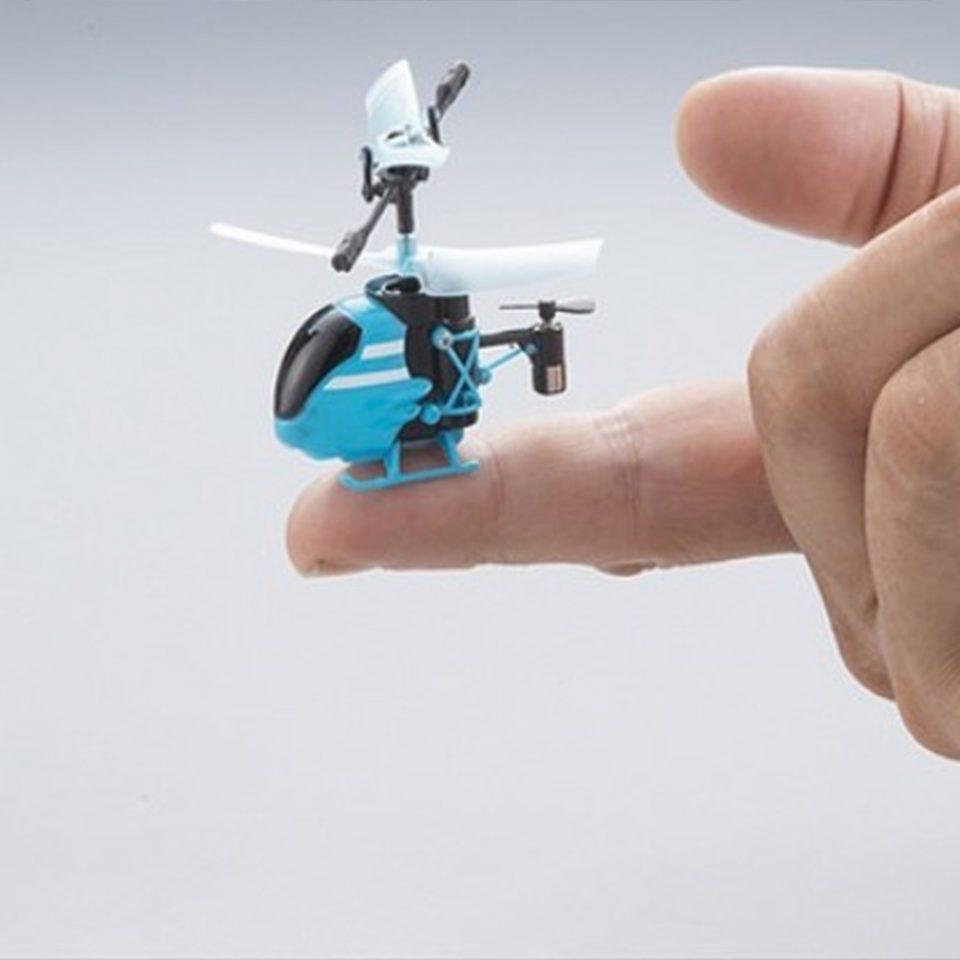 Minihelicopter-falcon-azul