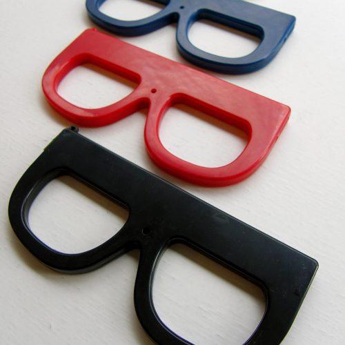 Cámara de fotos con forma de gafas