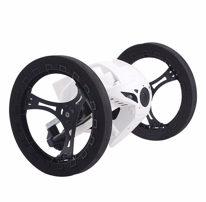 mini dron parrot jumping detalle rueda