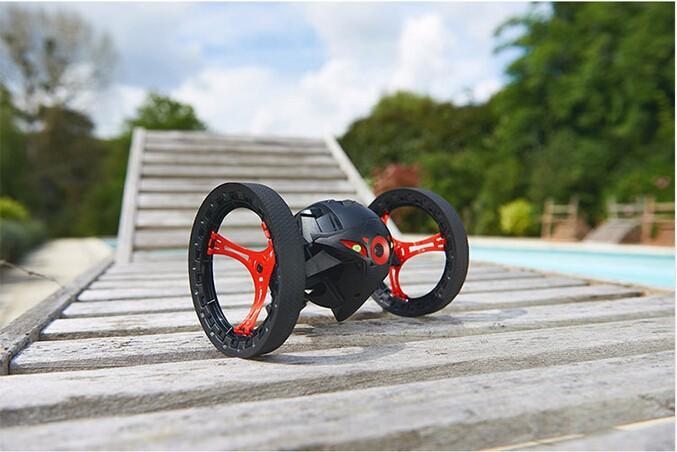 mini dron parrot jumping rojo