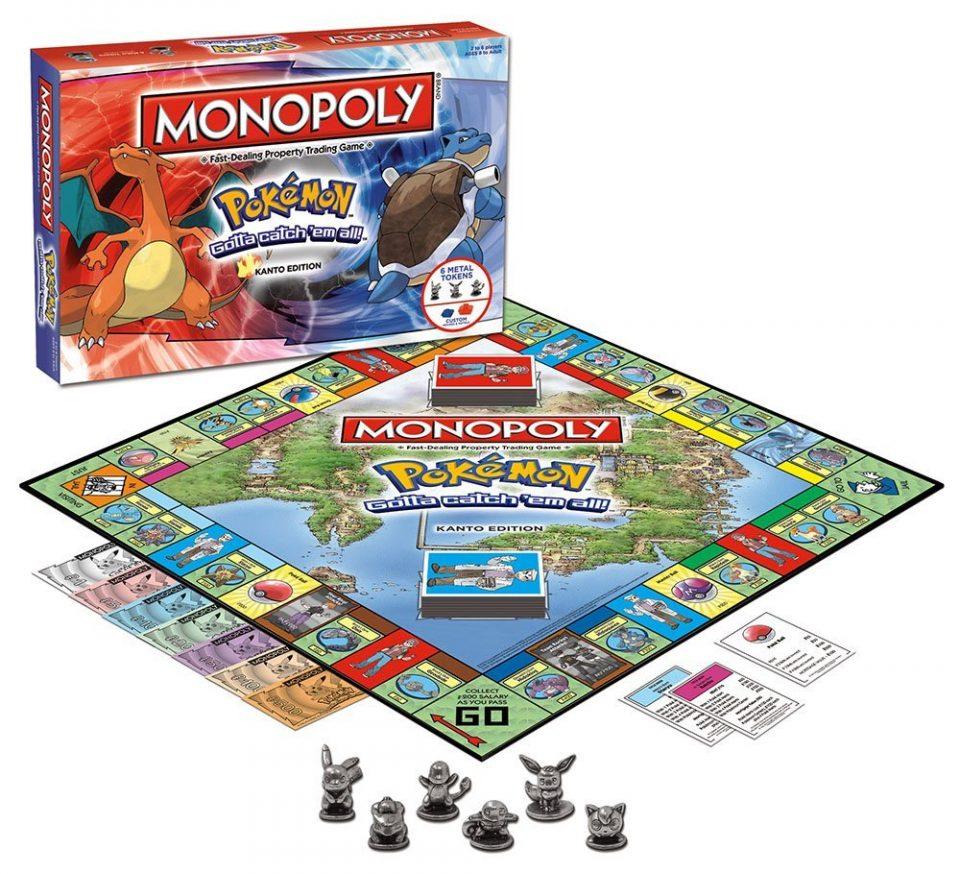 monopoly pokemon figuras