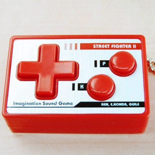 Mousou Controller – Llavero con sonidos de Street Fighter II