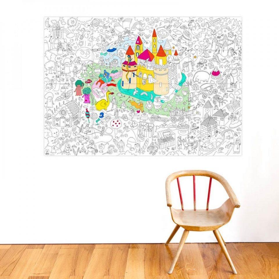poster grande para colorear big kids