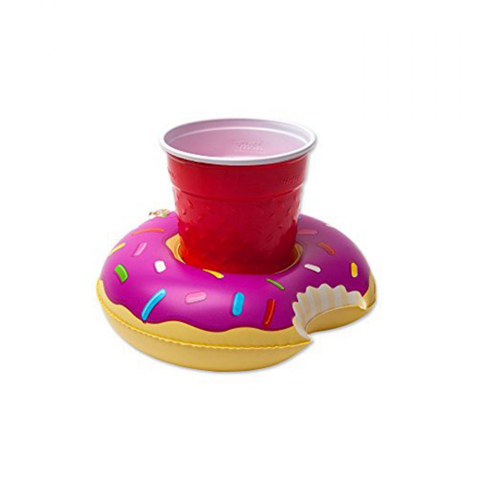 Inflables-para-bebidas-con-forma-de-donut,-3-piezas-BigMouth-2