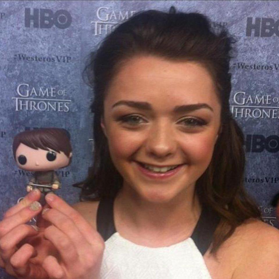 Muñeco-de-Vinilo-POP!-Arya-Stark-Juego-de-tronos-foto