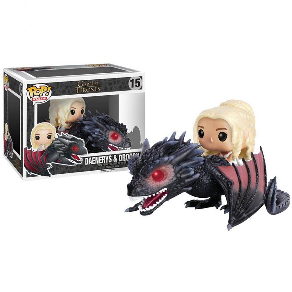 Muñeco-de-Vinilo-POP!-Daenerys-y-Drogon-Juego-de-tronos-caja