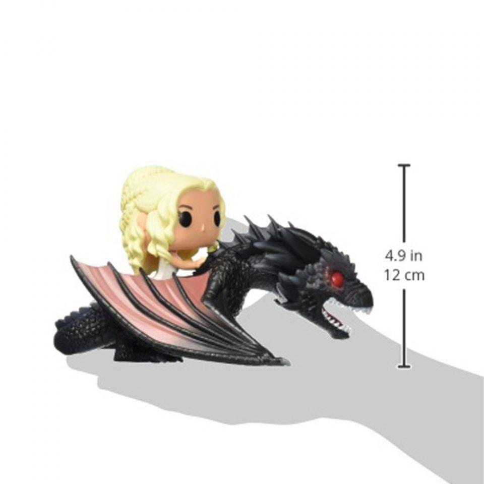 Muñeco-de-Vinilo-POP!-Daenerys-y-Drogon-Juego-de-tronos-mano