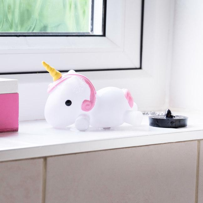 Tapón de baño unicornio multicolor 3