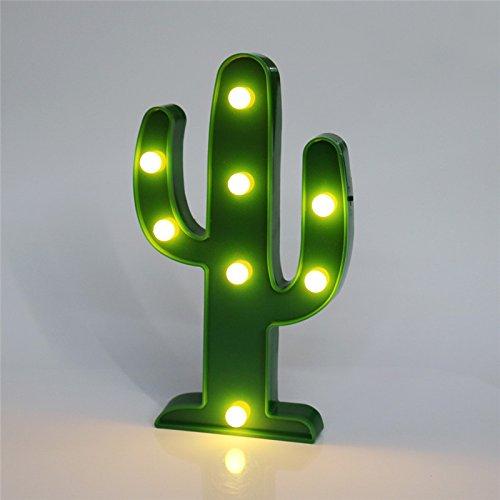 Lámpara de noche Leds Cactus 2