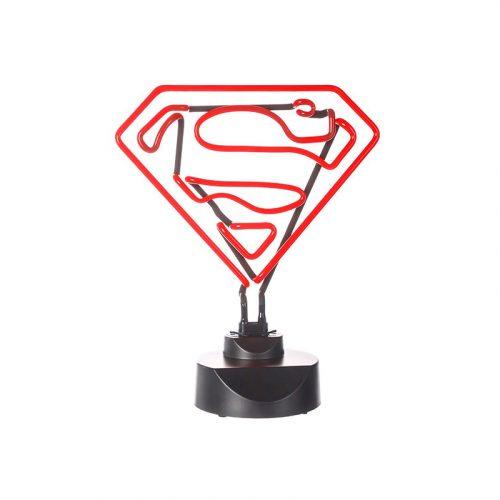 Lámpara de neón DC Comics