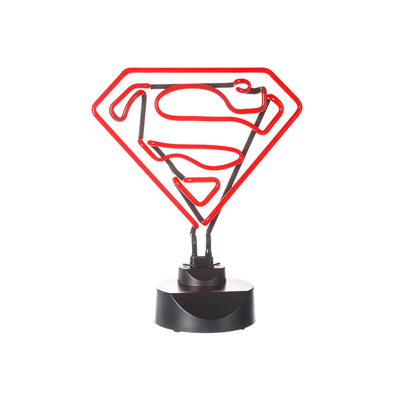 Lámpara-Neón-DC-Comics-Superman