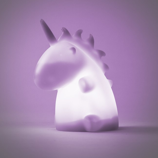 Lámpara de noche unicornio 3