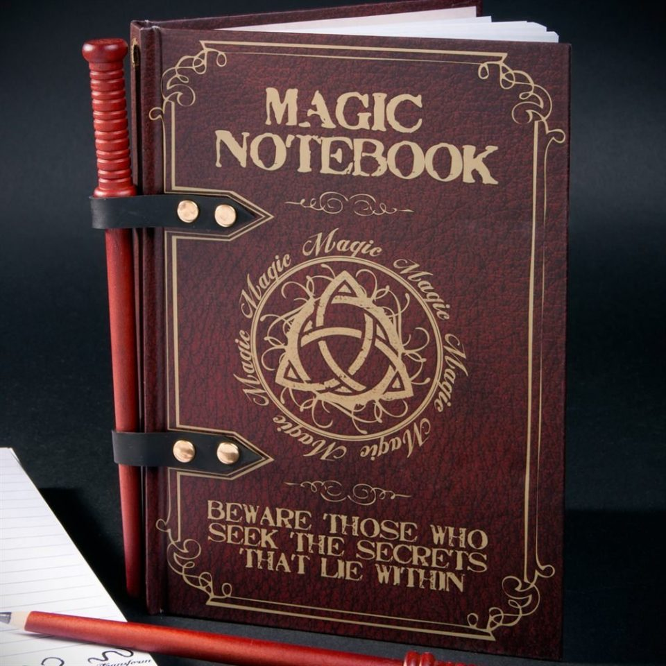Magic Notebook Harry Potter 4