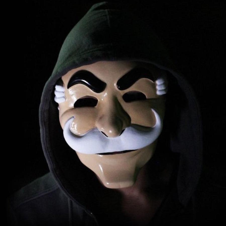 Máscara-MrRobot