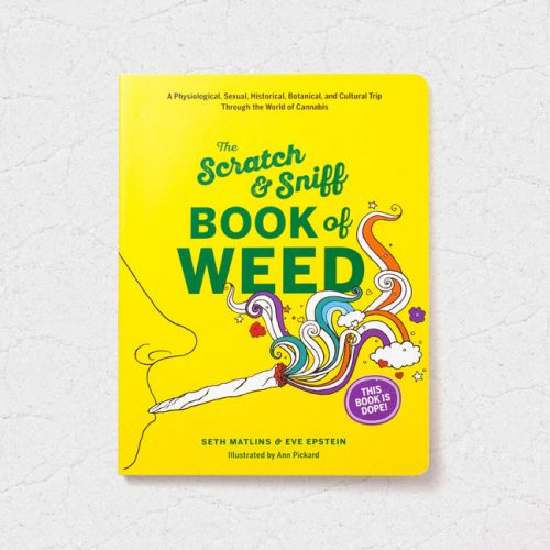 Libro The Scratch & Sniff Book of Weed