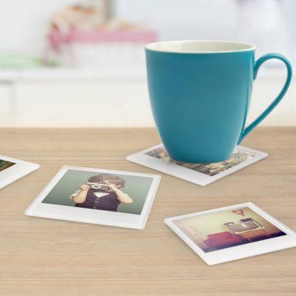 Posavasos Polaroid