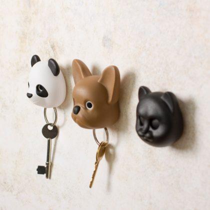 Colgadores de llaves de animales