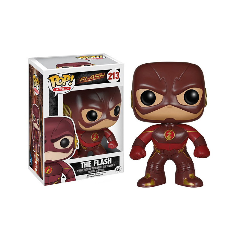 Muñeco-de-Vinilo-Funko-Pop-The-Flash-caja