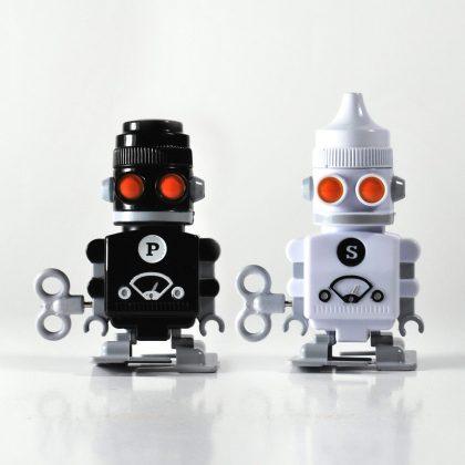 Robots salero y pimentero