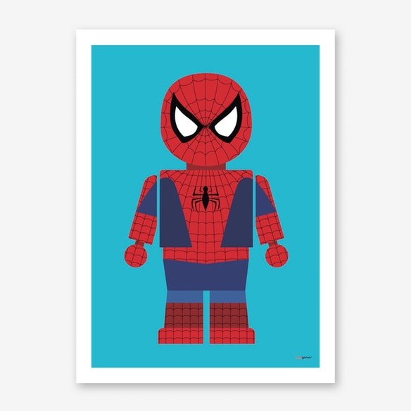 poster spiderman toy