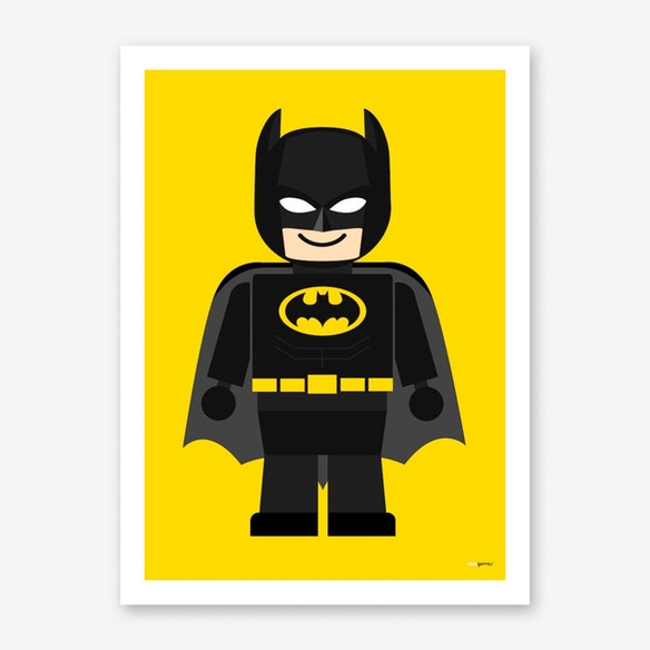poster toy batman