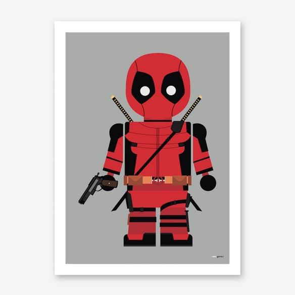 poster toy deadpool