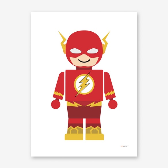 poster toy flash
