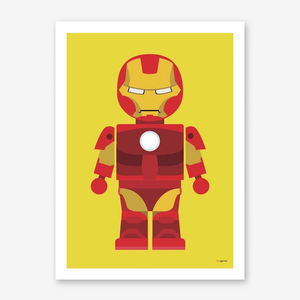poster toy iron man