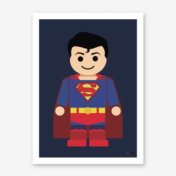 poster toy superman