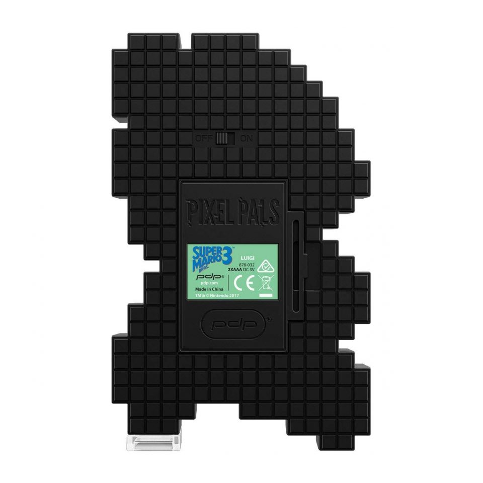 Pixel Pals Nintendo Luigi 3