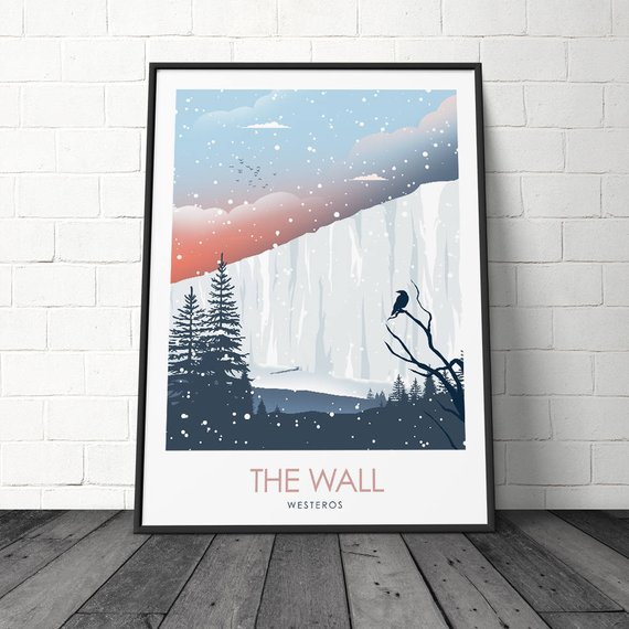 Posters juego de tronos – Winterfell, King's Landing y The Wall 7