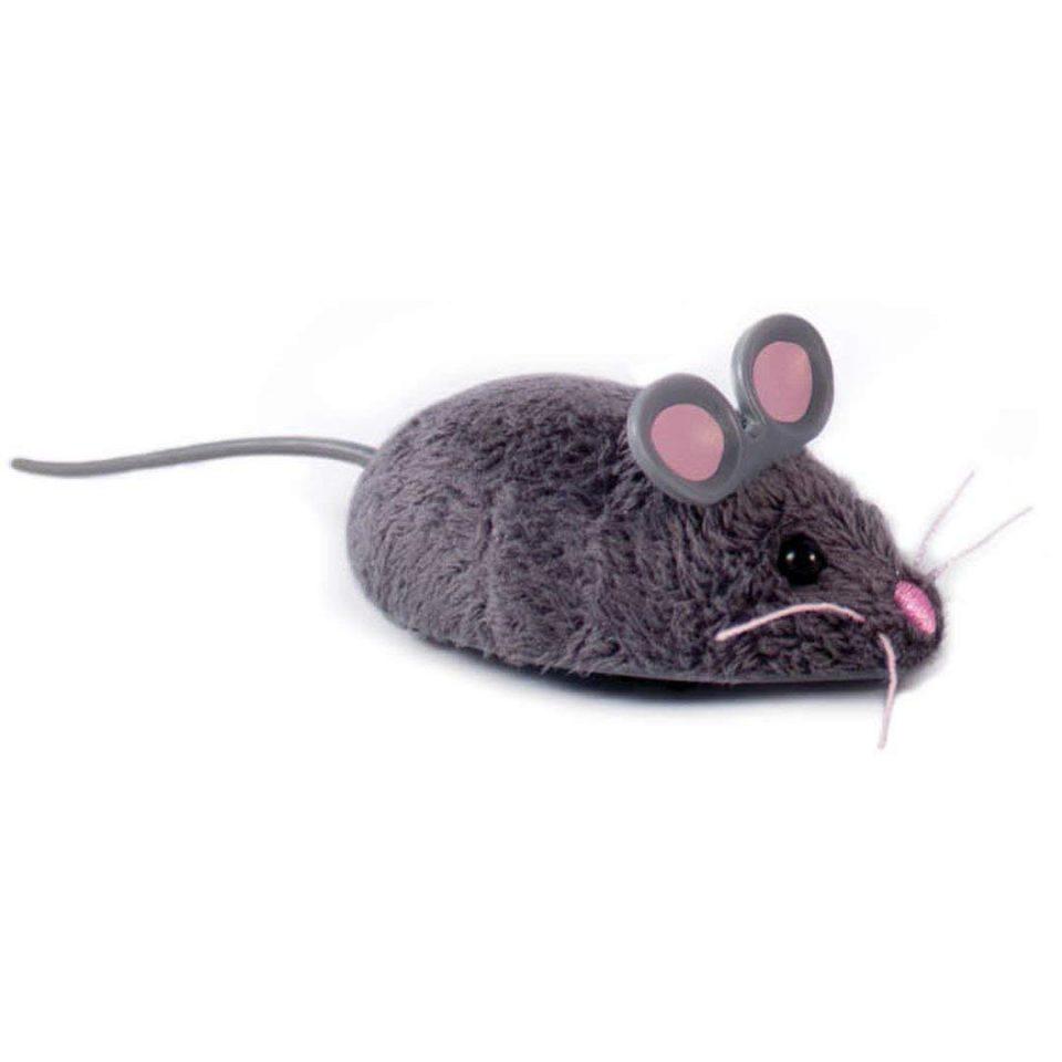 Ratón mini robot inteligente. Juguete para gatos