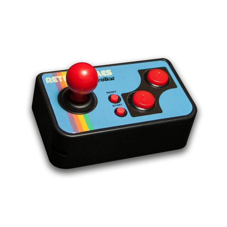 Thumbs Up MINTVGAME. Controlador de Juegos, Diseño Retro
