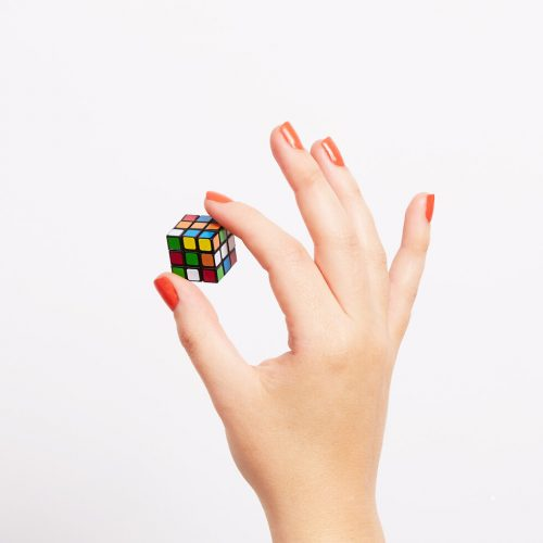 El cubo de rubik más pequeño del mundo