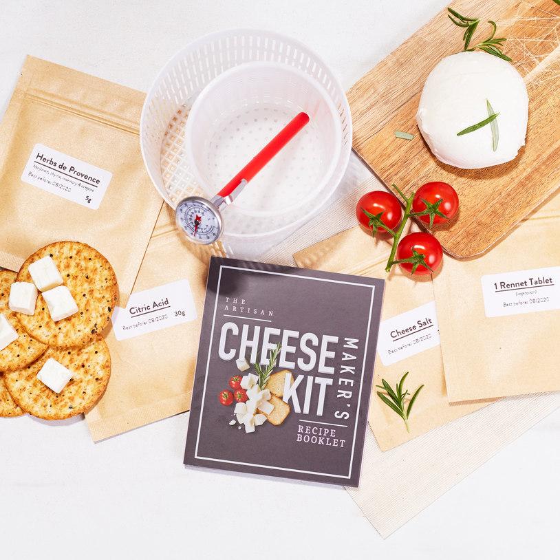 Kit para hacer queso artesanal 2