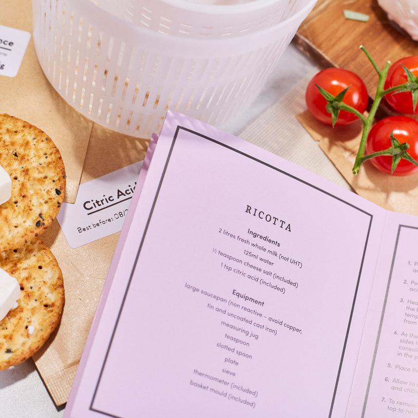 Kit para hacer queso artesanal 3