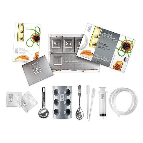 Kit para practicar cocina molecular en casa